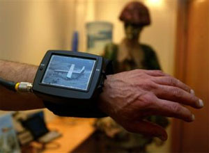 Wrist Video used by Israeli Army codenamed V-Rambo
